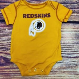 NFL Washington Redskins Onesie 12 Month